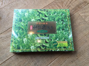 神仙桑抹茶ゴールドのパッケージの様子