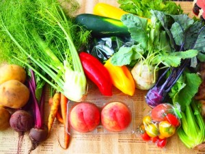 豊富な野菜・フルーツを使用
