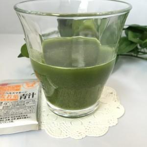ヘルスマネージ大麦若葉青汁キトサンの水溶きドリンク