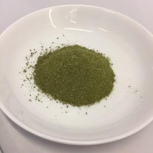 活きた酵素と青汁の粉末