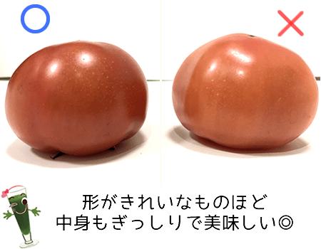 トマトの形