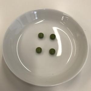 ユーグレナの緑汁粒タイプの粒の匂いや味を解説するところ