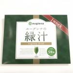 ユーグレナの緑汁のパッケージの様子