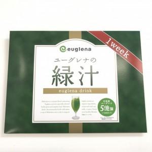 ユーグレナの緑汁のパッケージ
