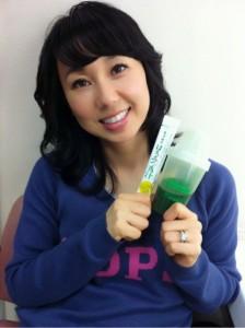 東尾理子 はちみつ青汁