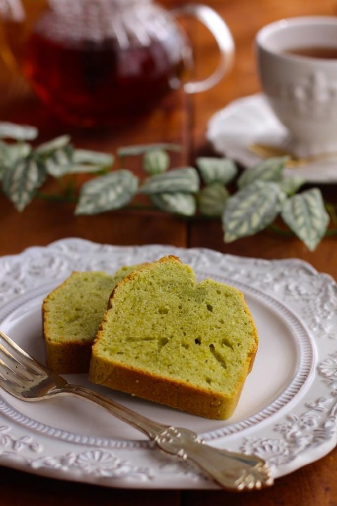 パウンドケーキ盛り付け例2