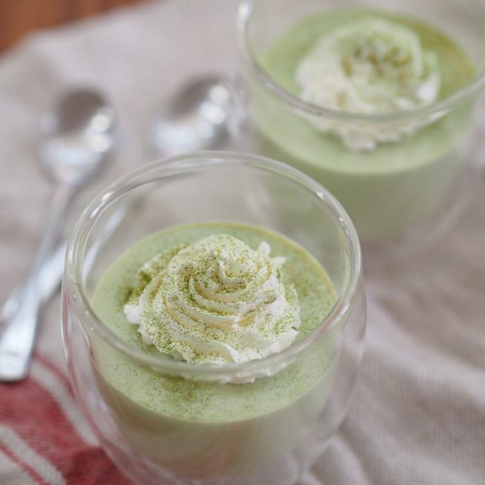 グリーンレアチーズケーキ【青汁ちゃん限定レシピ】のイメージ写真