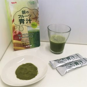 ヤクルトの朝のフルーツ青汁の口コミ・評判・効果は?ダイエット効果がないって本当?