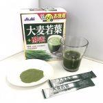 大麦若葉+酵素(アサヒ)の口コミ・評判!アサヒの青汁の味わい・効果を徹底検証!