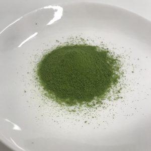 ヤクルトの国産ケール青汁の粉末の様子