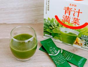 えがおの青汁満菜のドリンク