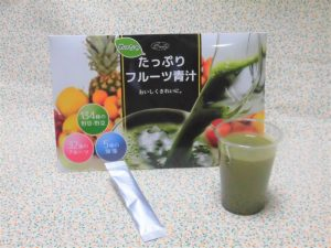 めっちゃたっぷりフルーツ青汁(シエル)